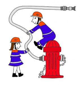 Bambini Feuerwehr, Germersheim. Löschzwerge