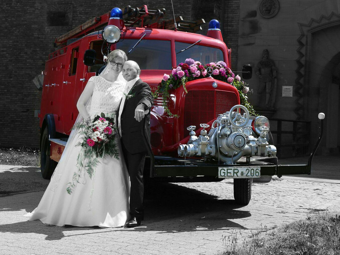 Hochzeit Christina Und Stefan Freiwillige Feuerwehr Germersheim