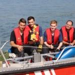 4 neue Bootsführer bei der Feuerwehr Germersheim