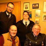 Feuerwehr gratuliert Max Sträßner zum 80. Geburtstag