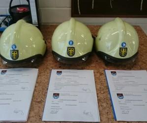3 neue Atemschutzgeräteträger