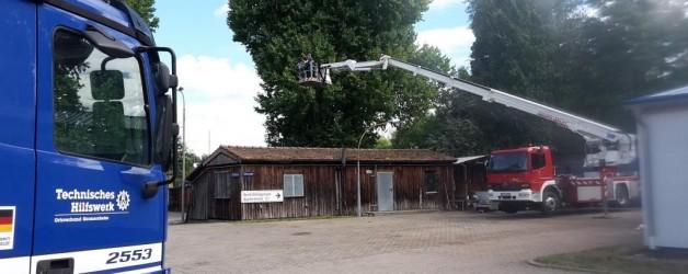 Unterstützung THW Ortsverband Germersheim