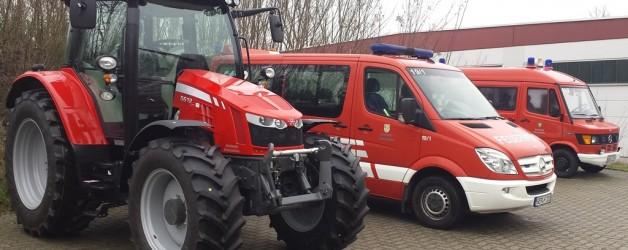 Neues Sonderfahrzeug der Feuerwehr Germersheim