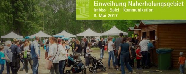 Förderverein unterstützt Eröffnung des Naherholungsgebietes