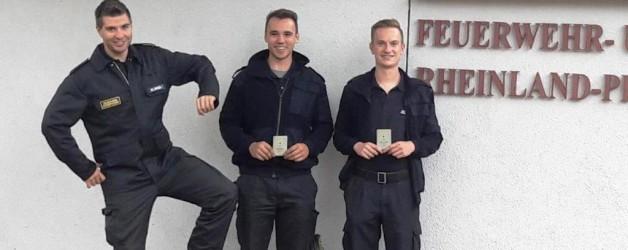Neue Bootsführer bei der Feuerwehr Germersheim