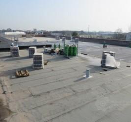 Isolierung der Dachfläche